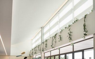 3 obras realizadas con estores Coverglass