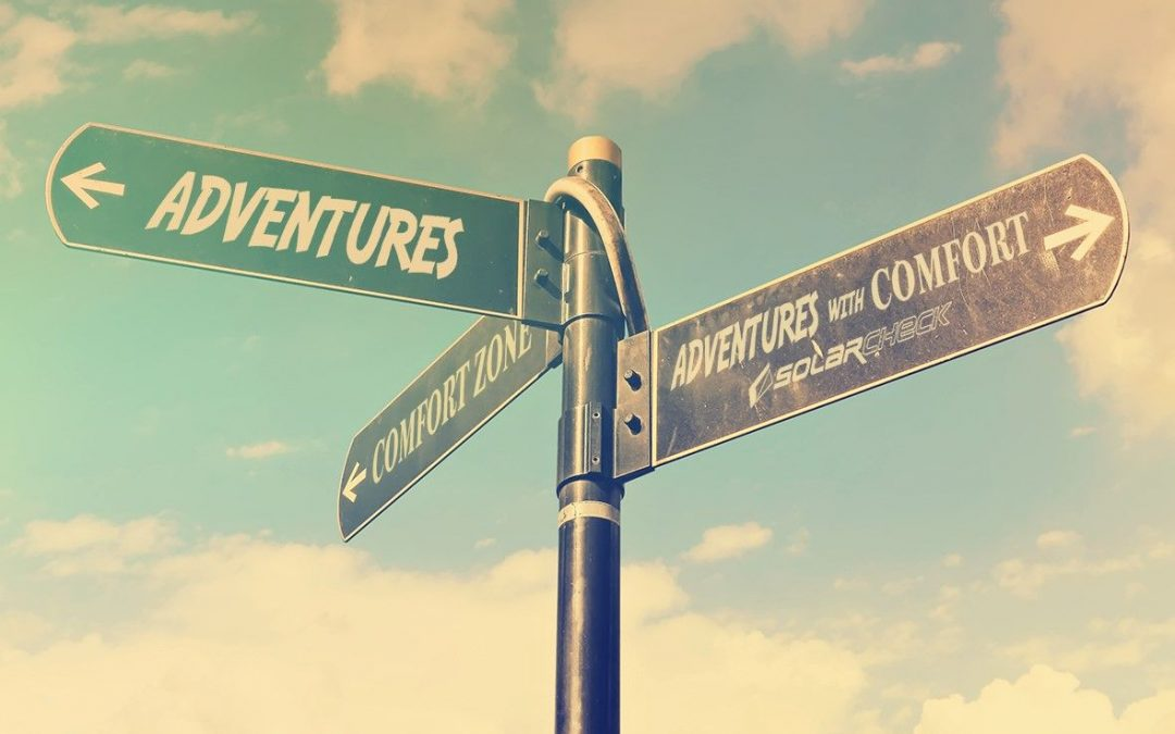 Para vivir aventuras hay que salir de la zona de confort…¿o quizás no?