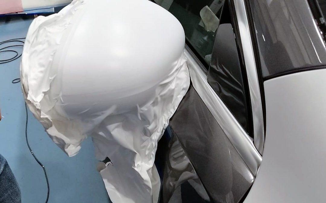 Car Wrapping taller Solarcheck Sant Boi