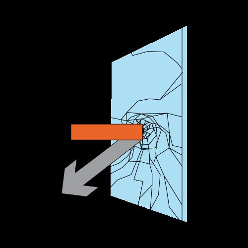 Diagrama Seguridad Vidrio con Lámina