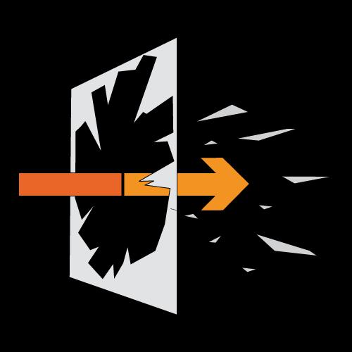 Diagrama Seguridad Vidrio sin Lámina