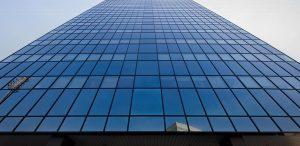 Estores enrollables Coverglass edificio Torre BCN Barcelona