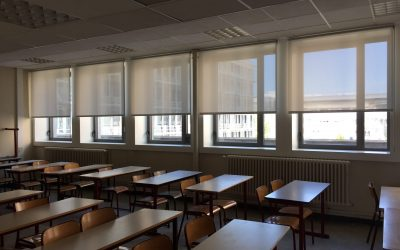 2.000 estores enrollables Coverglass en una universidad pública en Francia.