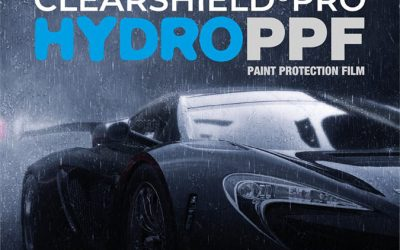 Clearshield Pro HYDRO PPF, la última innovación en Paint Protection Film.