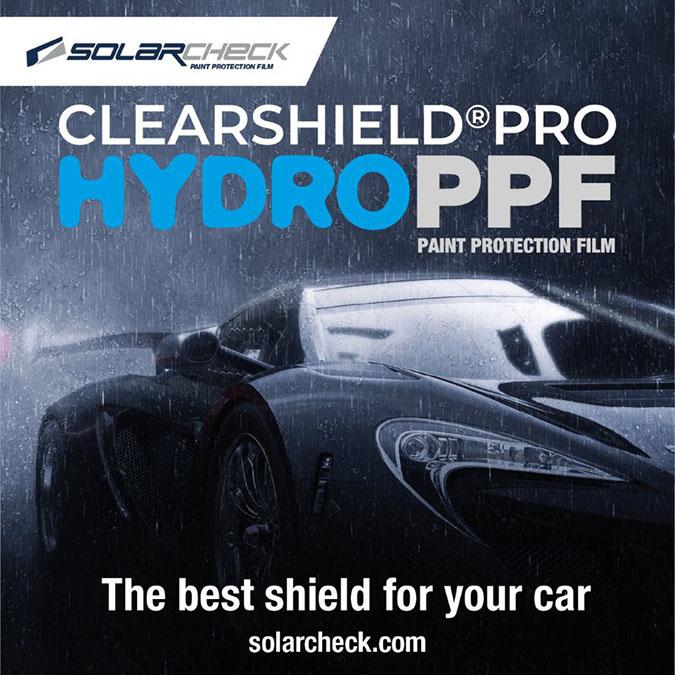 Clearshield Pro HYDRO PPF, la última innovación en Paint Protection Film.